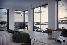No.4, beläget i Nacka Strand, erbjuder 207 bostäder och ligger endast 10 minuters bilväg från Slussen. Försäljning pågår. Inflytt är planerad vintern 2017.