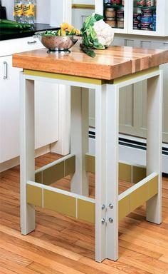 Butler kitchen workstation table