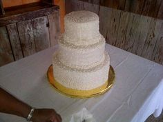 Beach House wedding cake