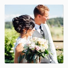 awesome vancouver wedding Soft and romantic updo was what our lovely bride wanted, so that is what she got! #vancouverhairstylist #vancouverhair #weddinghair #weddinghairstyle #wedding #brideandgroom #weddingflowers #updo #bombayhair #curlingwand #curlsfordays #curls #romantic #vancouverbride by @gemshairandmakeup  #vancouverflorist #vancouverwedding #vancouverweddinghair #vancouverwedding