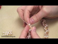 How to Do Spiral Rope Stitch for Beading & Make a Bracelet - YouTube