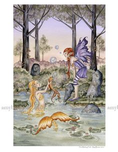 PRINTS - Mermaid Prints - Amy Brown Fairy Art - The Official Gallery
