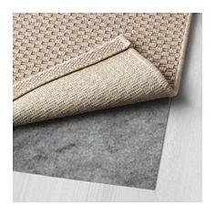 IKEA - MORUM, Vloerkleed glad geweven, bin/buit, 160x230 cm, beige, , Ideaal in je woonkamer of onder de eettafel, omdat je de stoelen makkelijk over het gladde oppervlak kan schuiven om te stofzuigen.Geschikt voor gebruik binnen en buiten omdat het bestand is tegen regen, zon, sneeuw en vuil.