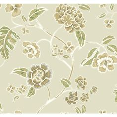 60.75 sq. ft. Global Chic Zen Garden Trail Wallpaper,