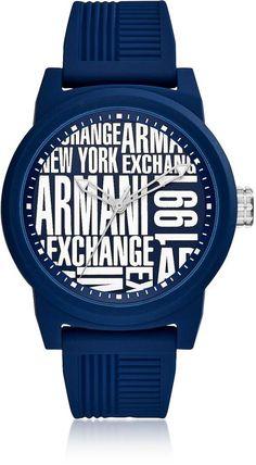 Armani Exchange Atlc Blue Silicone Men s Watch  148.00 Actual transaction  amount 4e1edac8bd