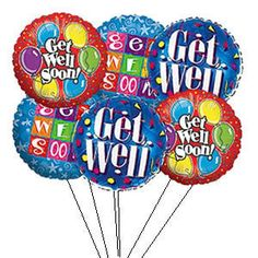 take get well balloons to hospital and leave with nurse for someone who is alone Get Well Soon Images, Get Well Soon Funny, Get Well Soon Messages, Get Well Soon Quotes, Get Well Wishes, Get Well Balloons, Thinking Of You Quotes, Prayers For Healing, Happy Birthday Images