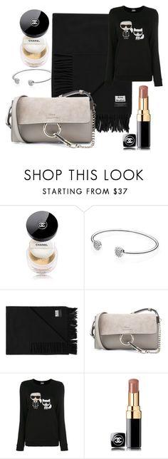 """veru wish list"" by veronika-harnolova on Polyvore featuring Chanel, Pandora, Acne Studios, Chloé and Karl Lagerfeld"
