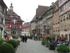 Schaffhausen, Switzerland  SO... HOME to me... I so miss this little piece of the world.