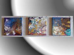 Cosmo – Pittura in acrilico su 3 tele 20x20  http://ilmondodifam.wix.com/famou