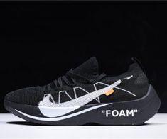5732e08c295b 2018 Off-White x Nike Vapor Street Flyknit Black Anthracite AQ1763-001 Air  · Air Jordan SneakersJordans ...