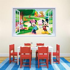 Mickey Mouse Wall Stickers – the treasure thrift