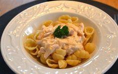 Krämig pastasås med kassler