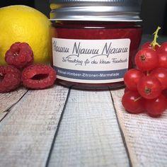 Ribisel-Himbeer-Zitronen-Marmelade - http://ift.tt/1Ku8h61