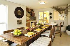 15 modernas salas de jantar | Acervo de Interiores