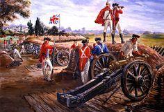 Artillería británica. Más en www.elgrancapitan.org/foro