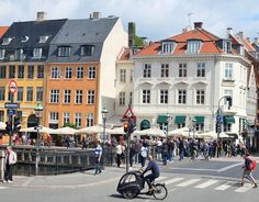 Kopenhagen | Daenemark | waseigenes.com | Strasse Nyhaven
