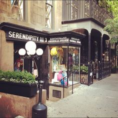 Growing up in NYC, you have access to the best food in the world. The desserts at Serendipity are legendary! I literally went here every week during college.
