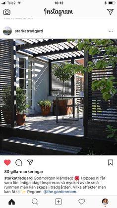 Vertical Garden Design, Garden Design Plans, Outdoor Spaces, Outdoor Living, Modern Pergola Designs, Small Yard Landscaping, Cozy Patio, Back Gardens, Outdoor Projects