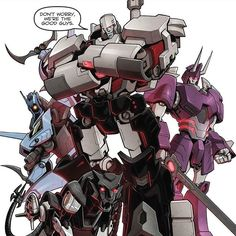 """""""If telling the truth is deception, then we are gladly guilty..."""" ~ Frank Welker as Megatron from Transformers Prime"""