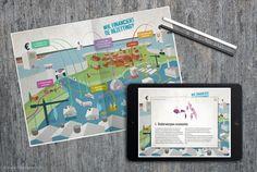 Folder/interactieve pdf met infographic voor UCP ... | Portfolio - The Ad Agency