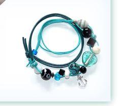 Wickelarmbänder - KCA 40 - Wickelarmband ANKER - ein Designerstück von von-limone bei DaWanda