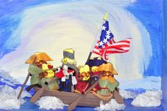 peep washington crossing the delaware Marshmallow Peeps, Peep Show, Easter Peeps, The Washington Post, Delaware, Your Favorite, Clever, Core, Classroom