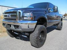 2001 Ford F-250 Diesel XLT Lifted Truck