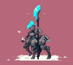 (*) Twitter Cool Pixel Art, Anime Pixel Art, Game Character Design, Character Art, Game Design, Pixel Life, League Of Legends, Pixel Animation, Pixel Art Games