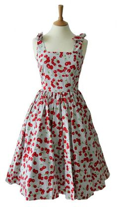 Cherry dress!