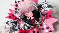 mommycraftsalot - YouTube  adding tulle to bows