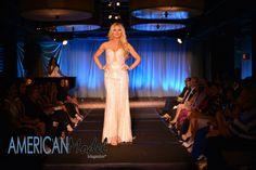 Lizzy Olsen rocking the runway for Mac Duggal in Miami   Photo: Amanda Ferguson Photography @afergusonphoto  Hair & Makeup: Crown Style Glam @crownstyleglam