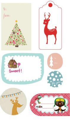 printable gift tags.