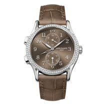 Patek Philippe Calatrava Travel Time 7134 Blanco Oro Reloj 7134G-001