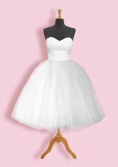 Grace | Classic 50s Style Wedding Dress | Get Go Retro
