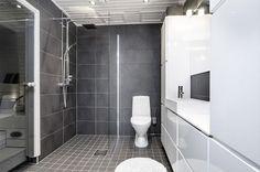 harmaa sauna - Google Search Sauna House, Living Spaces, Sweet Home, Bathtub, Loft, Shower, Google Search, Bathroom Ideas, Goals