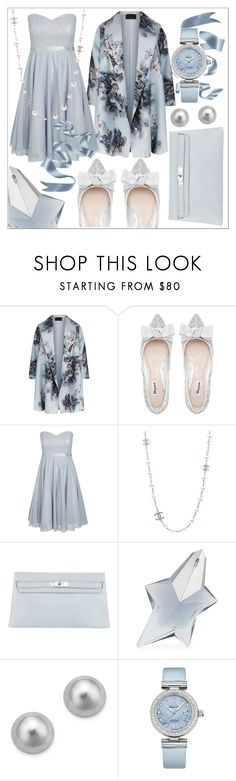 """773"" by robertaelisa ❤ liked on Polyvore featuring Marina Rinaldi, Bela, City Chic, Chanel, Hermès, Thierry Mugler, Bloomingdale's, OMEGA and plus size dresses"