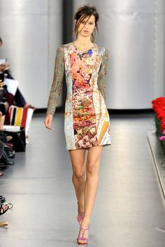 I love all the looks, but especially this dress from the Mary Katrantzou Spring 2012 collection