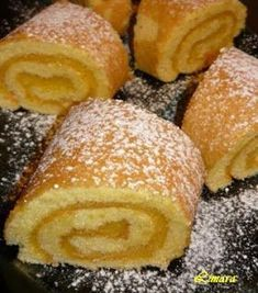 Limara péksége: Citromos piskótarolád