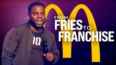 FROM FRIES TO FRANCHISE | One of the Best Speeches Ever by Brian Bullock Best Motivational Speakers, Best Motivational Videos, Best Speeches, Keynote, Work Hard, Dreaming Of You, Working Hard, Hard Work