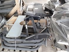 8-Pallets of POLICE CAR Screens, Consoles, & Push Bumpers LISTING # 15696 Ends: 6/3/2013 2:48:00 PM Eastern