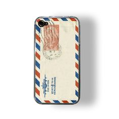 Vintage mail iPhone case. A retro gadget for the geek in your life.