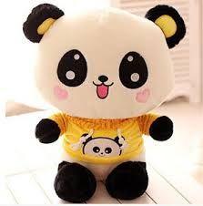 Resultado de imagen para peluche de oso panda