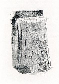 Gerhard Richter, 19.5.1988 (1988), 29.7 cm x 21 cm, Graphite on paper