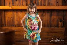 Kid's Dress from D4 Fabric Pattern