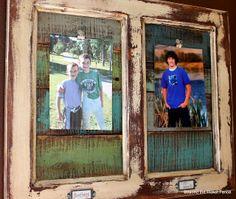 Craft time cupboard door repurposed picture frame Rope: The Best Tool Article B Old Cabinet Doors, Old Doors, Cadre Photo Diy, Door Picture Frame, Old Windows, Trash To Treasure, Diy Door, Door Redo, Diy Frame