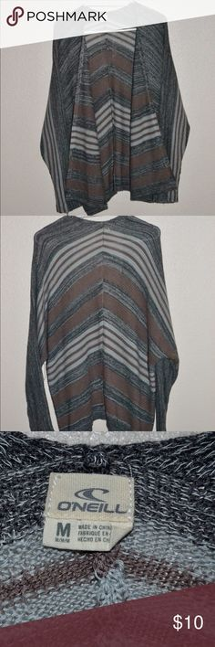 Multicolored O'Niell Cardigan size Medium Super cute. Must have cardigan. Stylish and 100% Acrylic. From the slopes to the waves this is the best sweater for both warm and cool weather. O'Neill Sweaters Cardigans