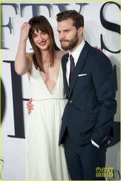 Jamie Dornan & Dakota Johnson Premiere 'Fifty Shades of Grey' in London! | jamie dornan dakota johnson fifty shades of grey london premiere 29 - Photo