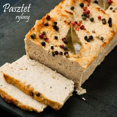 PASZTET RYBNY | Lepszy Smak My Favorite Food, Favorite Recipes, Polish Recipes, Polish Food, Appetisers, Seafood Dishes, Finger Foods, Banana Bread, Food Porn