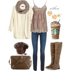 Grab a coffee Fall Outfit