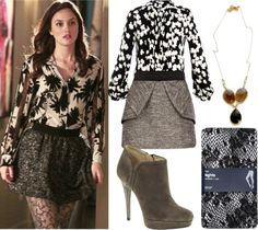 Gossip Girl Fashion, Style and Inspiration. www.ischweppe.com